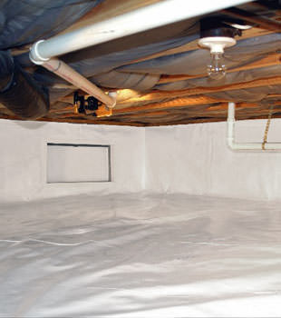 crawl space repair system in Saint Marys