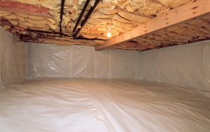 CleanSpace® vapor barrier after in State College