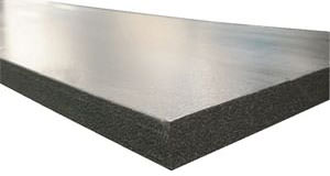 SilverGlo™ crawl space wall insulation available in Clearfield