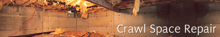 Crawl Space Repair in PA, including Du Bois, Bellefonte & Altoona.