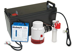 a battery backup sump pump system in Punxsutawney