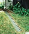 gutter drain extension installed in Cherry Tree, Pennsylvania